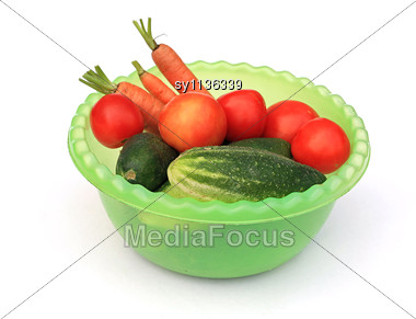 Vegetable Still Life Stock Photo