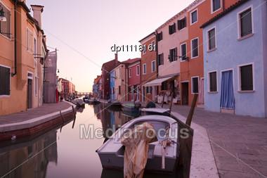 Venetian Lagoon, Island Stock Photo