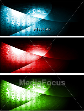 Vibrant Technical Backgrounds. Vector Design. Stock Photo