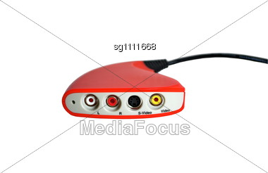 Video Adapter Stock Photo