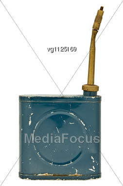 Vintage Thinner Dispenser Stock Photo