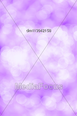 Violet Bokeh Background Stock Photo