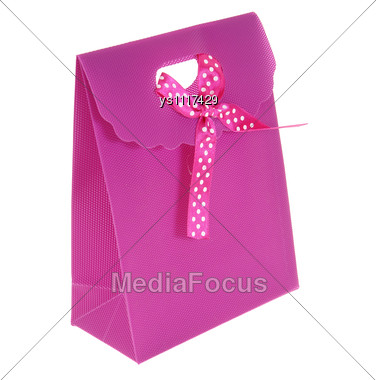 Violet Package Stock Photo