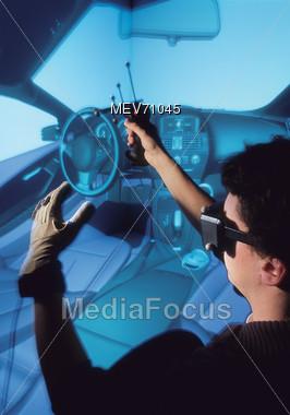 Virtual Realtiy Stock Photo