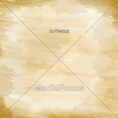 Watercolor Background, Vector Format Stock Photo