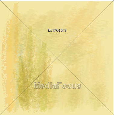 Watercolor Texture Background, Vector Format Stock Photo