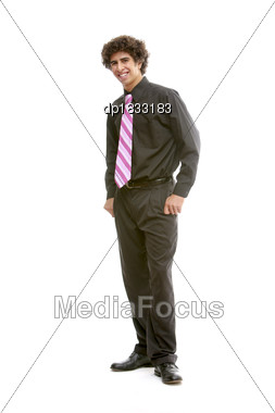 Well Dressed Young Man Stock Photo