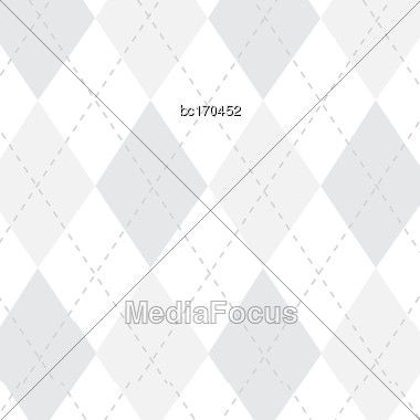 White Background With Caro, Vector Format Stock Photo