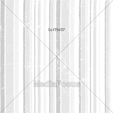 White Grunge Background With Strips, Vector Format Stock Photo