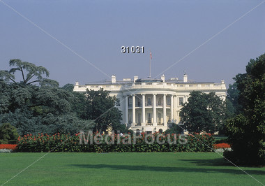 White House, Washington Stock Photo
