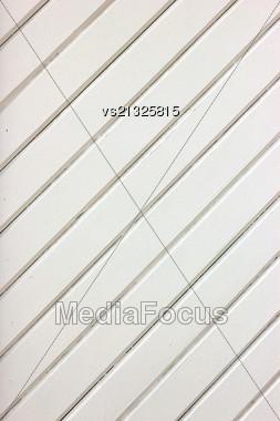 White Wood Planks Stock Photo