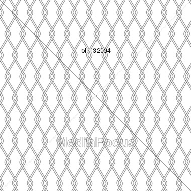 Wire Fence Background Stock Photo