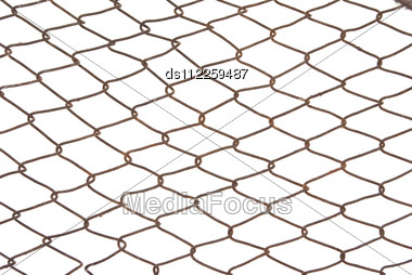 Wired Fence Stock Photo