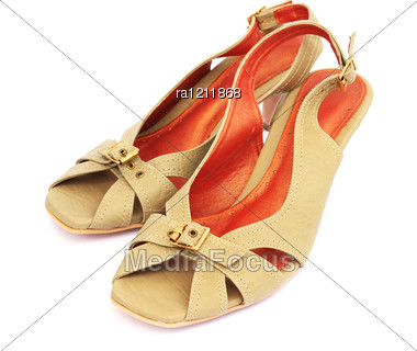 Woman Shoes Stock Photo