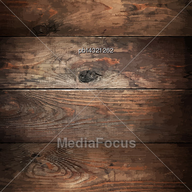 Wood Planks Traced Texture Stock Photo