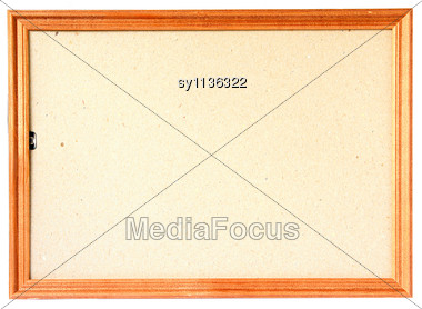 Wooden Frame For Photography And Pictures Stock Photo