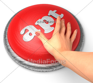 Word Apt On Button With Hand Pushing Stock Photo