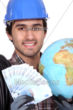 World Is Mine Stock Photo