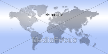 World Map. Abstract Backgrounds For Your Design Stock Photo