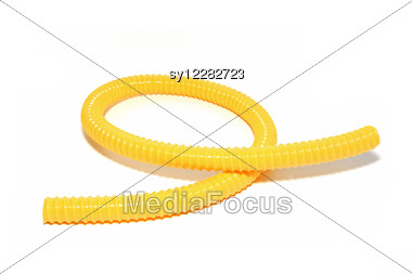 Yellow Hose Stock Photo