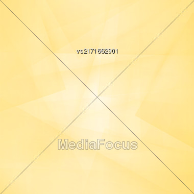 Yellow Line Background. Abstract Yellow Line Pattern Stock Photo