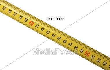 Stock Photo Yellow Meter New Condition Close-up - Image AK1119382 ...