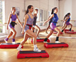 Fitness & Exercise studio exercising fitness aerobics exercise adult stock photo
