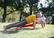 Stock Photo : Aerobics Stock Photography: weight fitness sports exercise