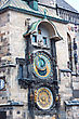 Stock Photo : Bridges Stock Image: Astronomical Clock. Prague. Czech Republic. City. Europe