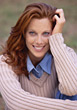Stock Photo : Smiles Pictures: Beautiful Red Haired Woman with Great Smile