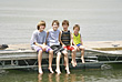 Boys on the Dock