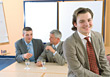 Stock Photo : Conference Table Stock Photography: Business Men Negotiating