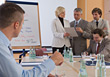 Stock Photo : Conference Table Stock Image: Business People Meeting at Conference