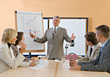 Stock Photo : Meeting Stock Image: Business People Sitting at Conference Desk