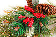 Decorated Christmas Colorful Decoration Closeup Image stock photo