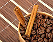 Coffe And Cinnamon stock image