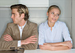 Couple with Marital Problems stock photo
