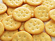 Crackers , Close Up Shot For Background stock photo