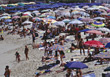 Stock Photo : Italy Pictures: Crowded Beaches