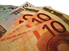 Paper EURO Currency stock photo