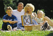 Families Family Picnic - stock photography