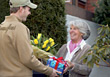 Florist Delivering Flowers &amp; Gifts