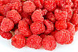 Stock Photo : Lush Stock Photo: Fresh Raspberry Closeup