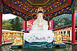 Landmark HONG KONG, CHINA - MARCH 19: Ten Thousand Buddhas Monastery In Sha Tin In Hong Kong On March, 19, 2013, Hong Kong, China. Its One Of The Most Popular Tourist Destination In Hong Kong stock image