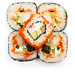 Stock Photo : Roll Stock Image: Japan Sushi Rolls
