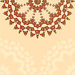 Lace Paisley Floral Colorful Ethnic Ornament Kaleidoscope