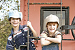 Stock Photo : Children Stock Photo: Little Engineers