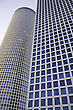 Modern Office Building, Azrieli Tower, Tel Aviv, Israel