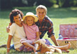 Stock Photo : Kid Stock Image: Mom Having Picnic with Kids