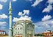 Orient Old, Great Mosque In Turkey stock photo